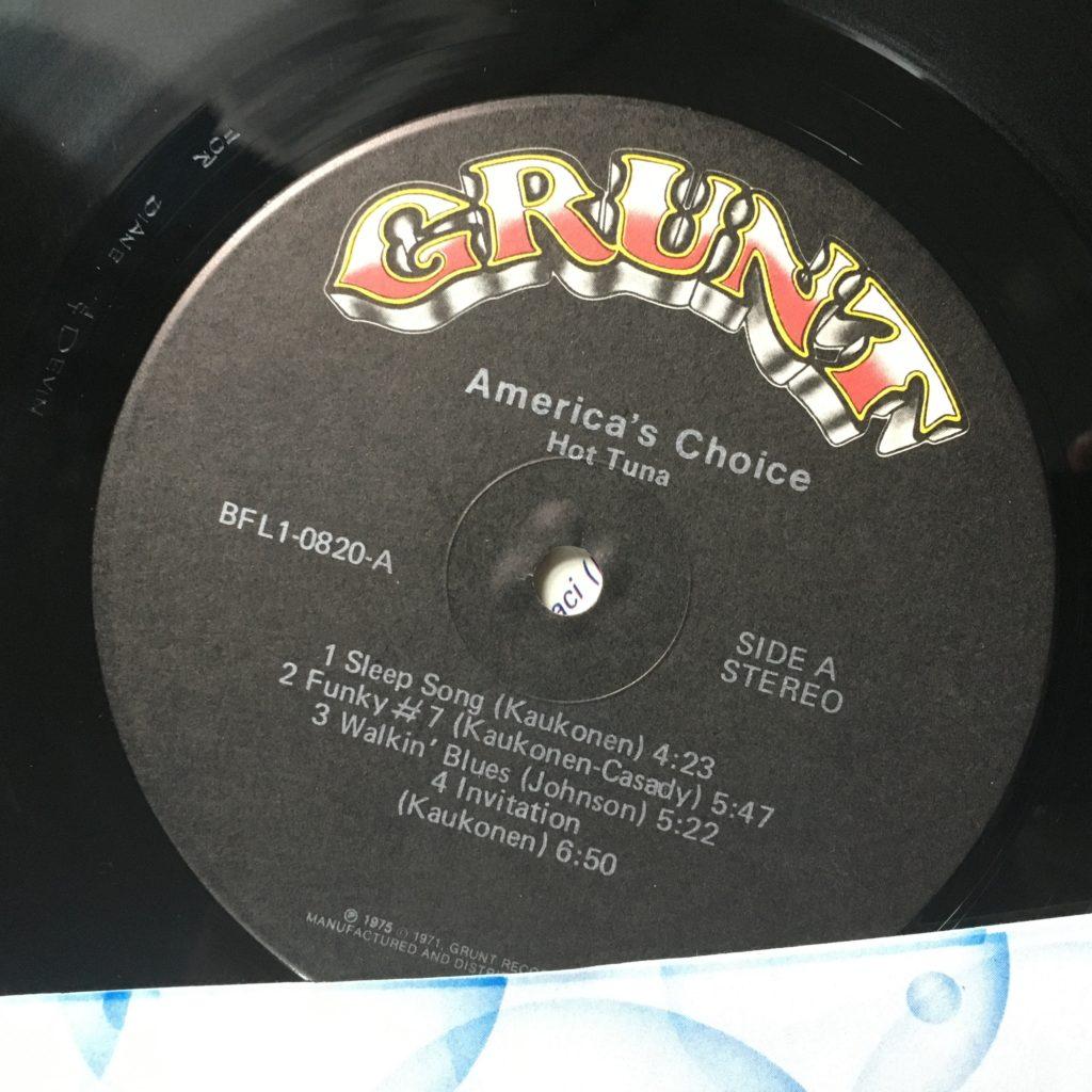 America's Choice label