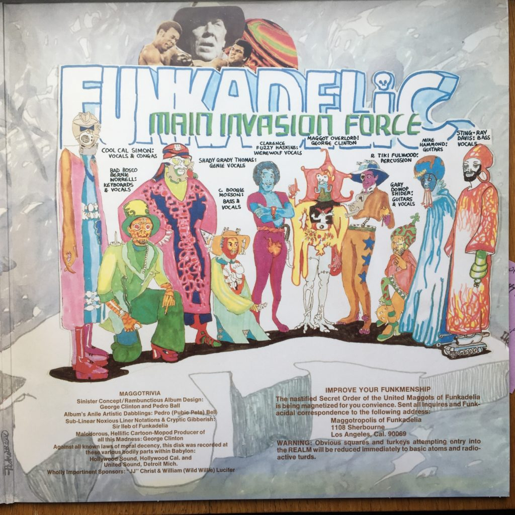 Let's Take It To The Stage gatefold