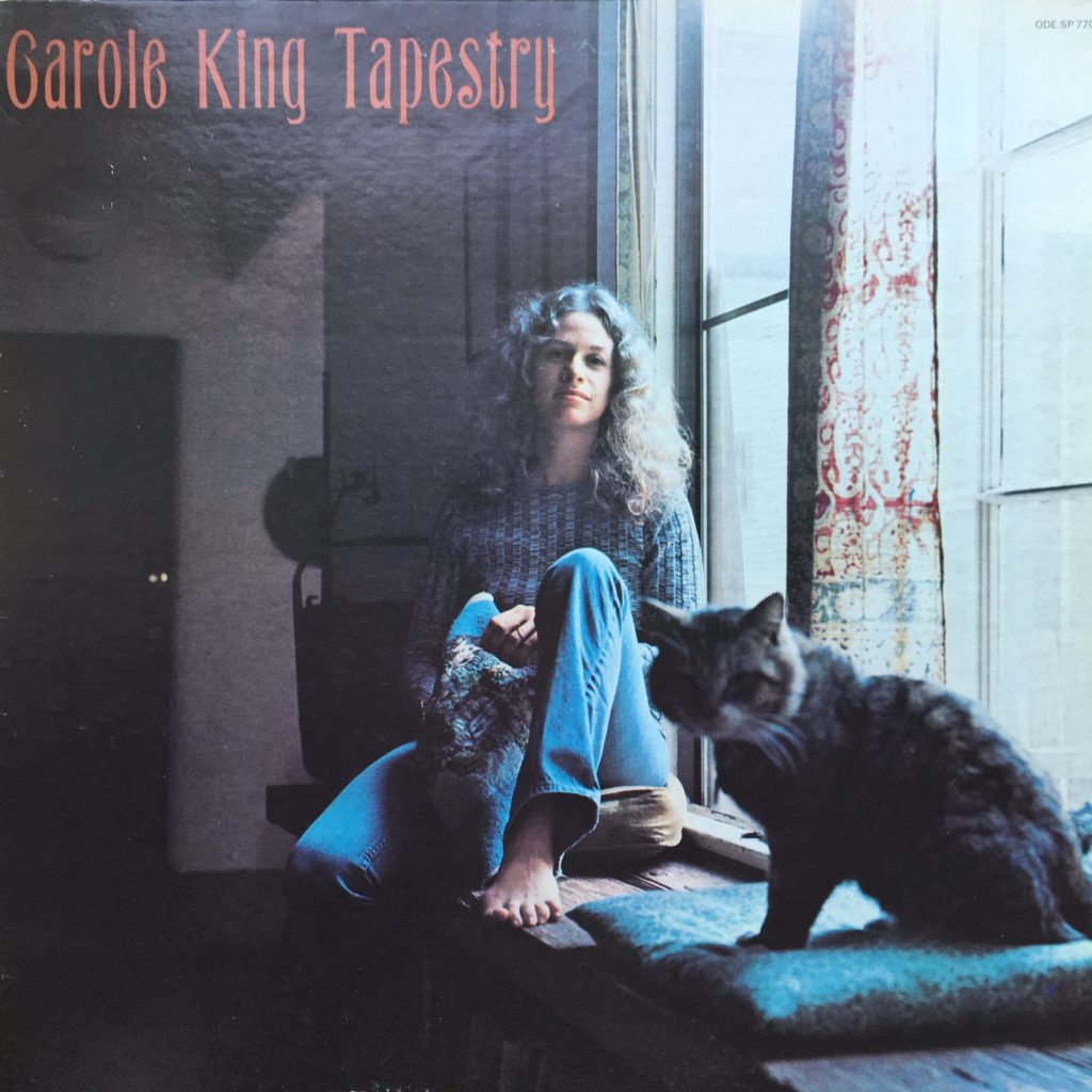 Carole King Tapestry front cover