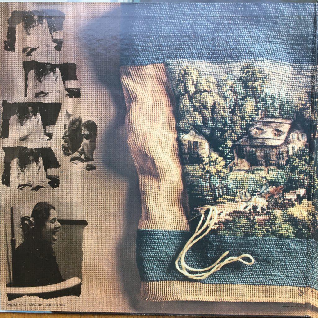 Tapestry gatefold left