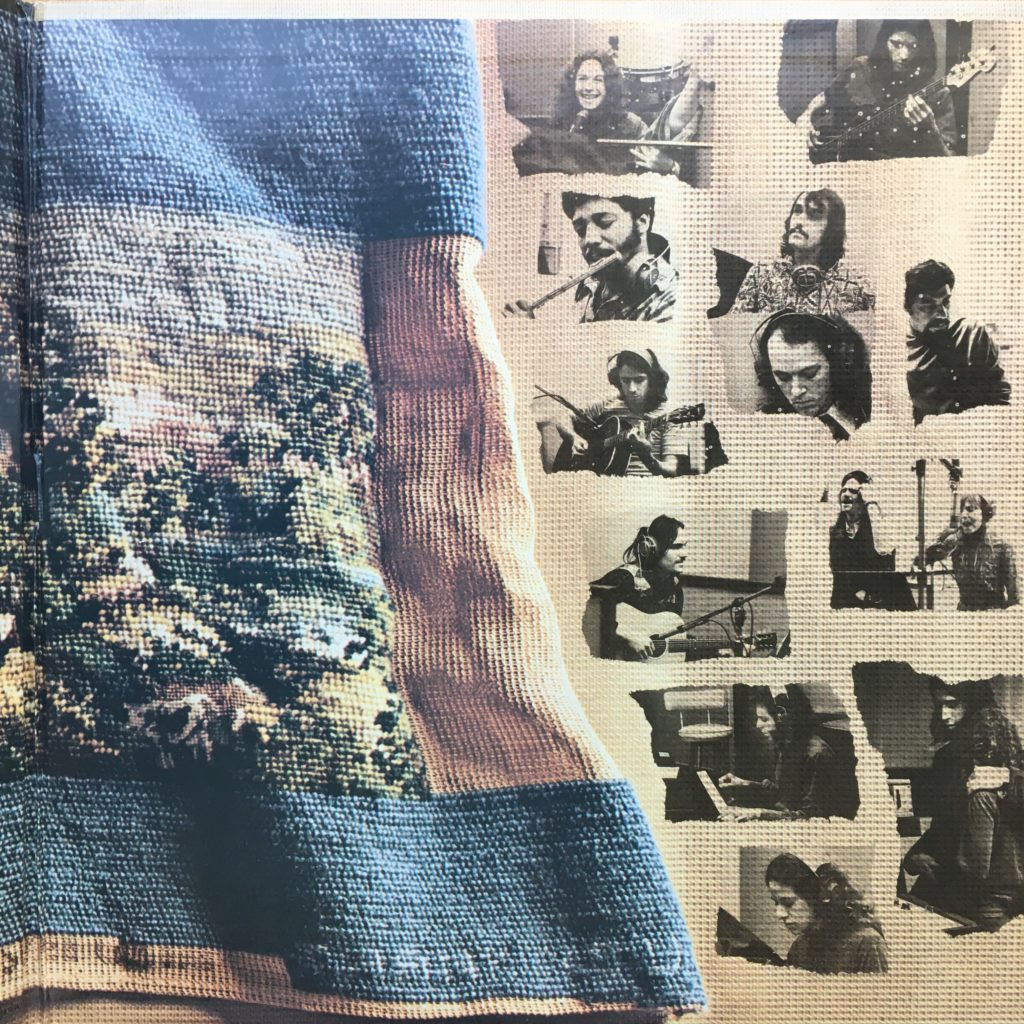 Tapestry gatefold right