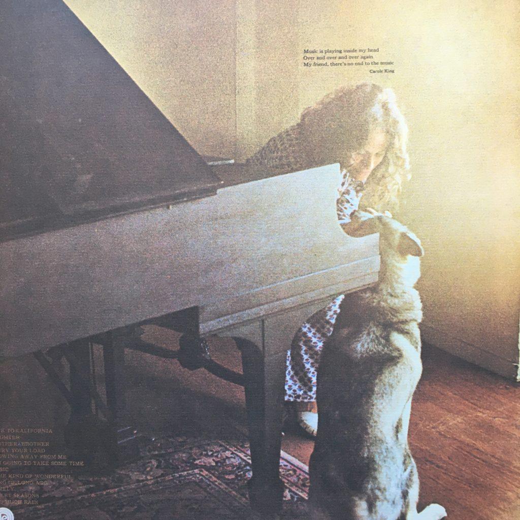Carole King Music back cover