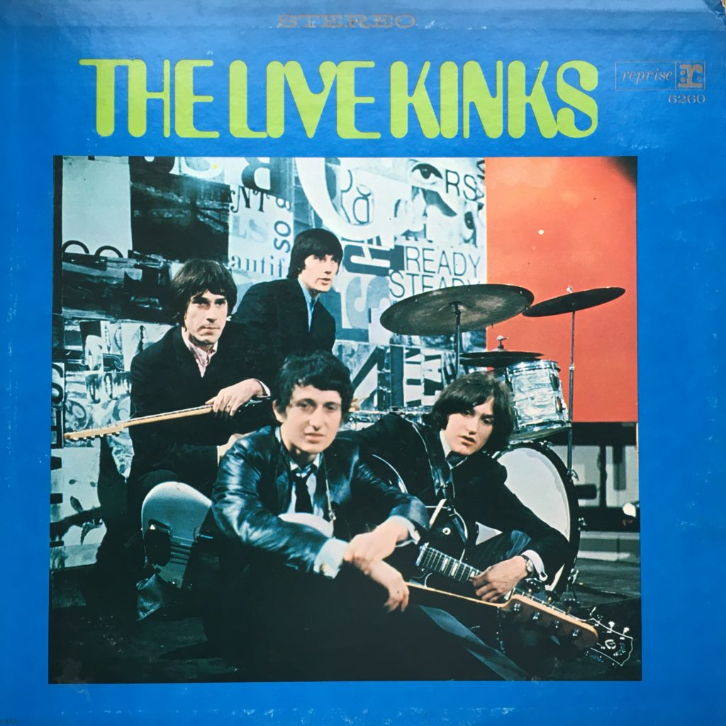 The Live Kinks front cover