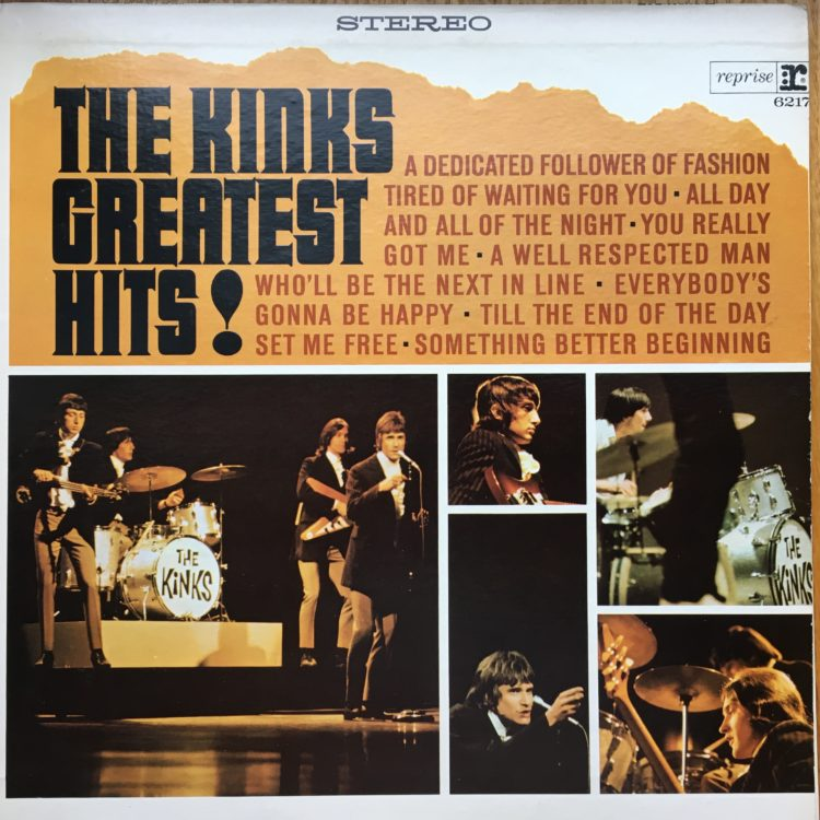 The Kinks Greatest Hits! front cover