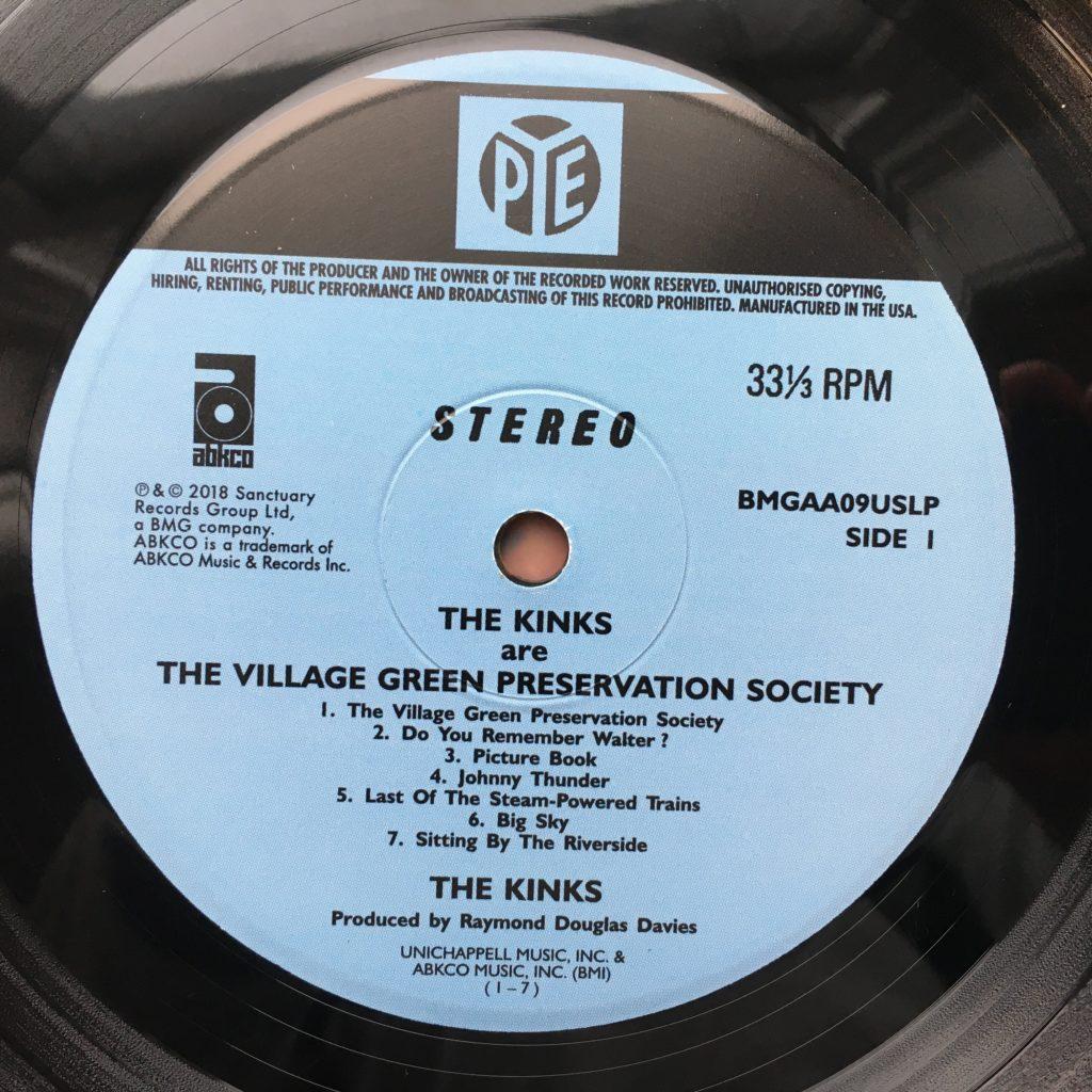 Village Green Preservation Society label