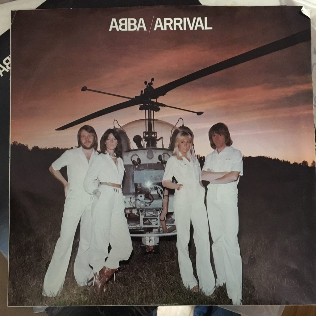 ABBA Arrival picture sleeve