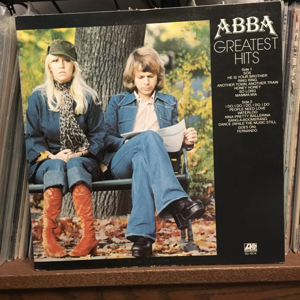 ABBA Greatest Hits Front Cover