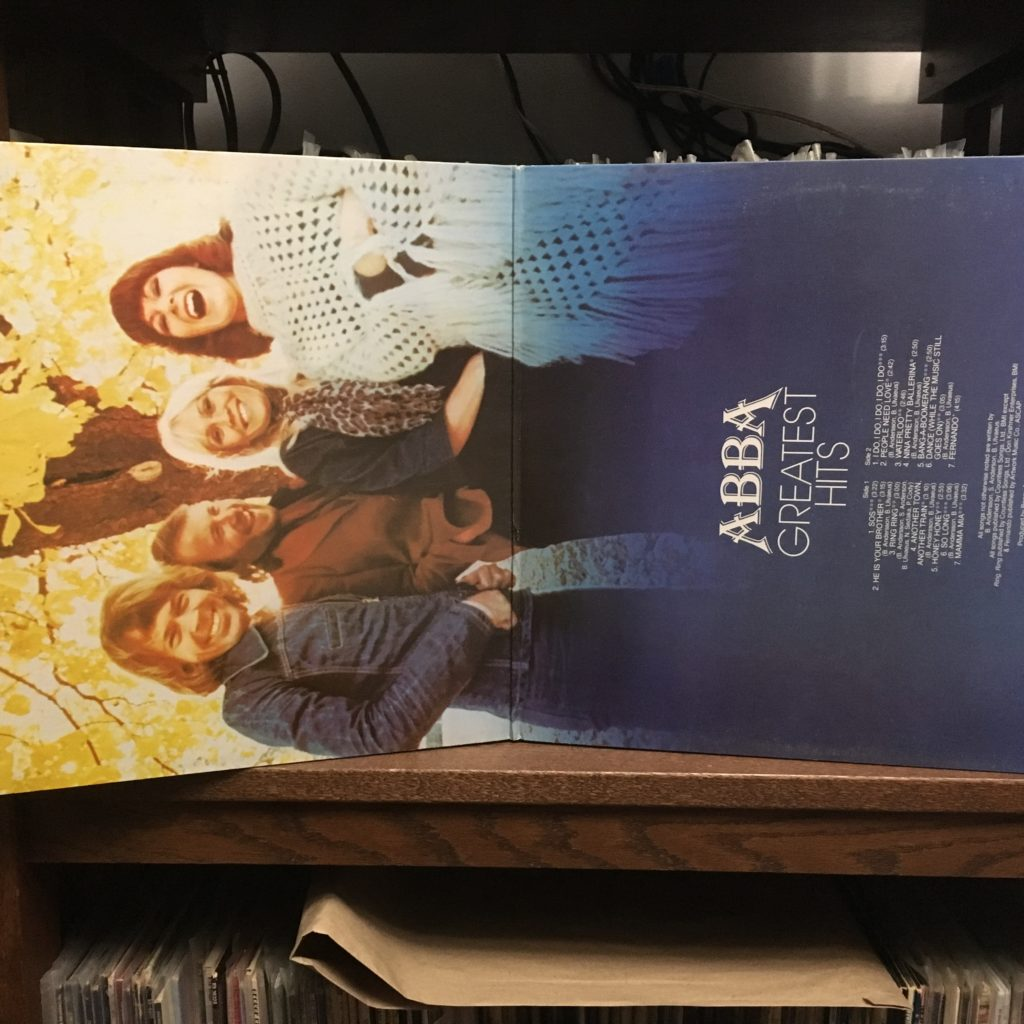 ABBA Greatest Hits gatefold full