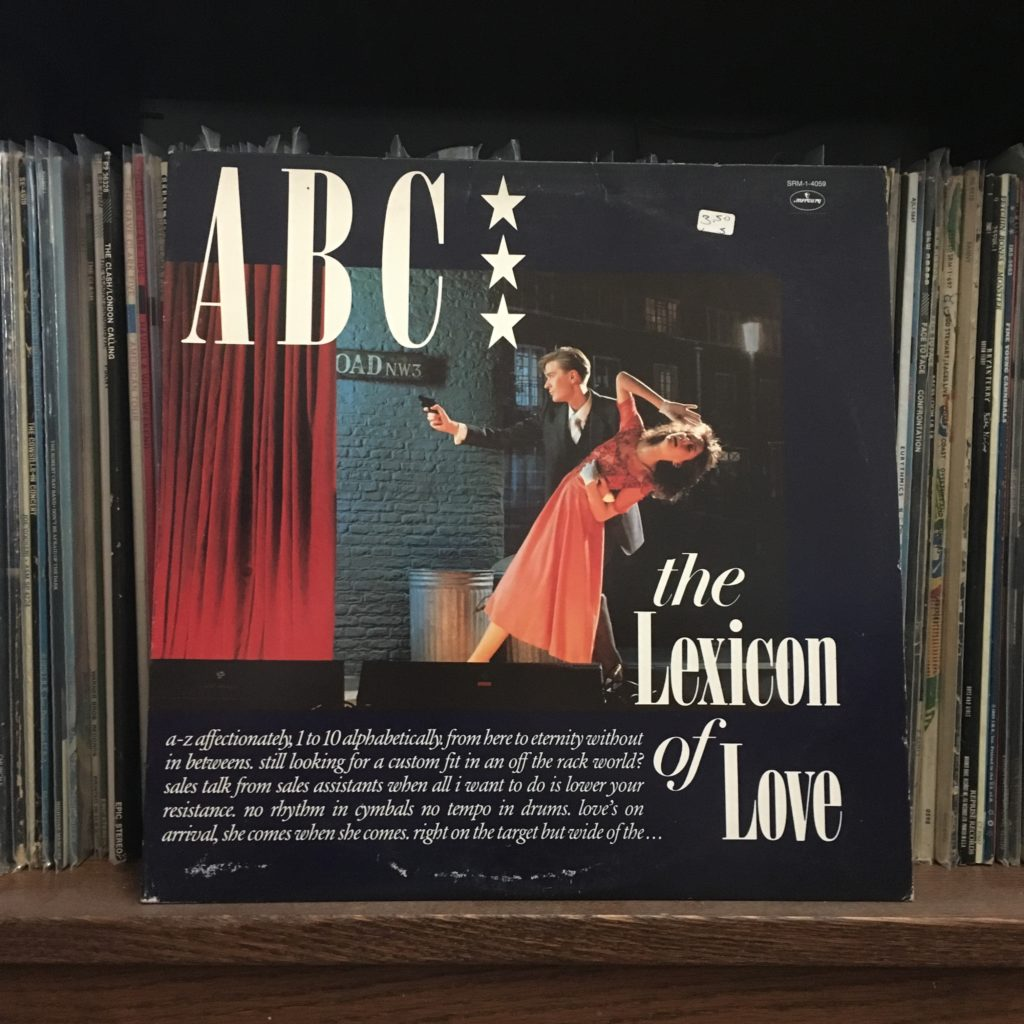 ABC The Lexicon of Love front cover