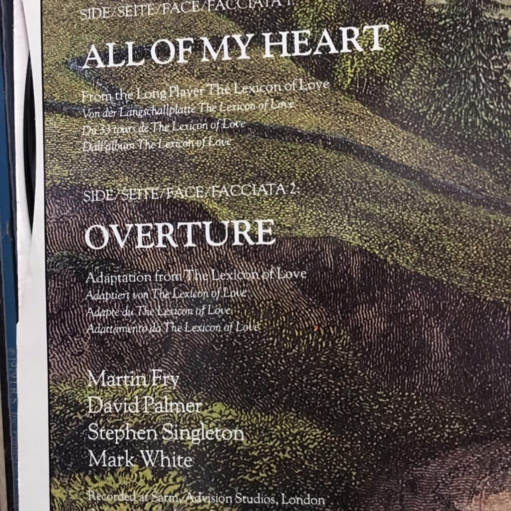 All of My Heart / Overture
