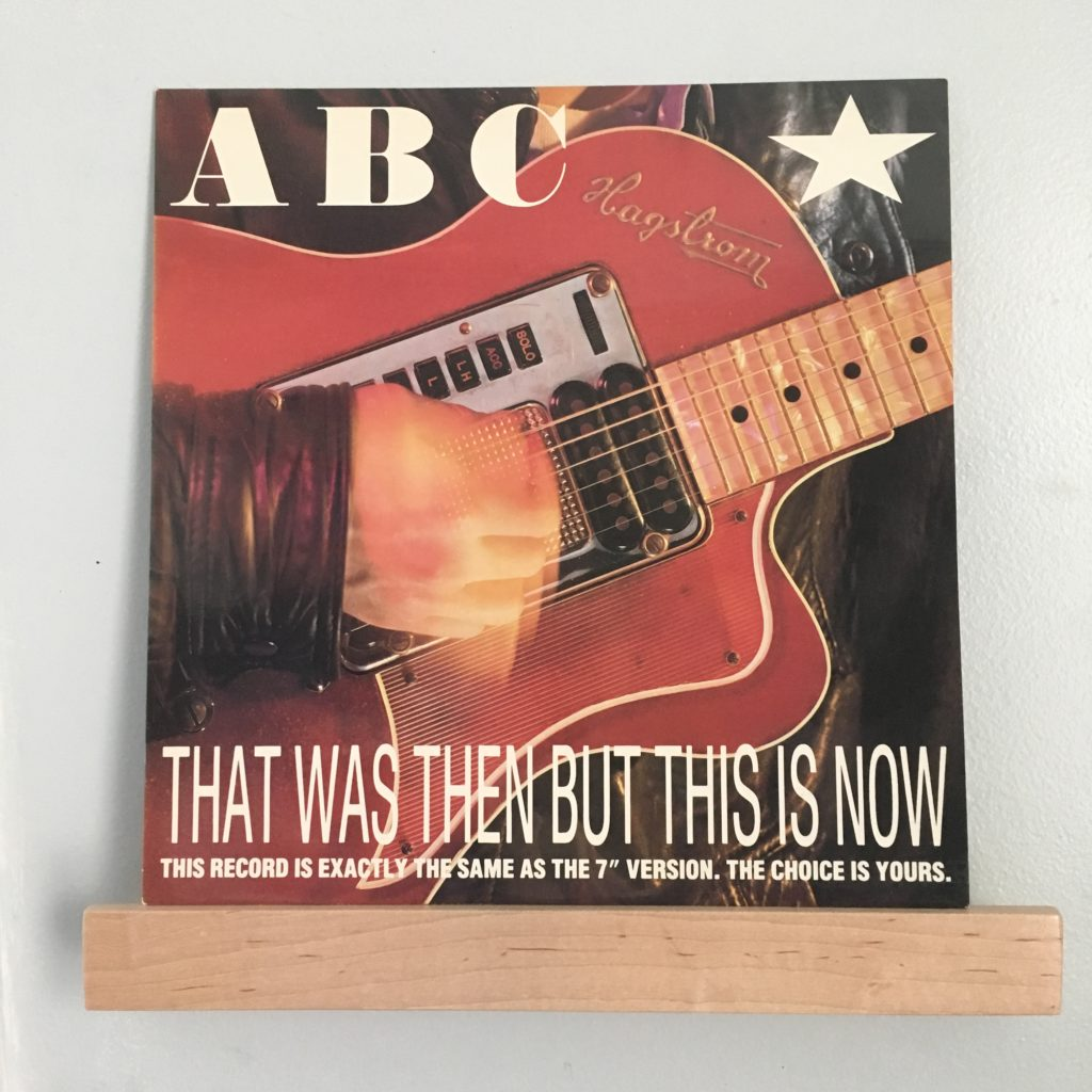 """ABC That Was Then This Is Now 12"""""""