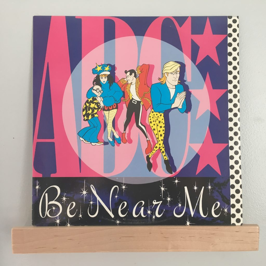 """Be Near Me 12"""" front"""