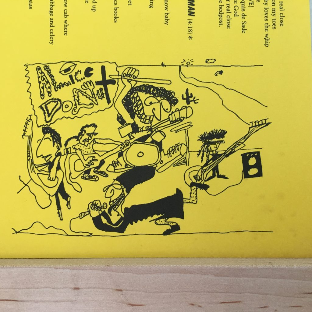 Alice Donut band art