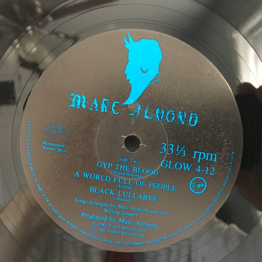 Melancholy Rose label B