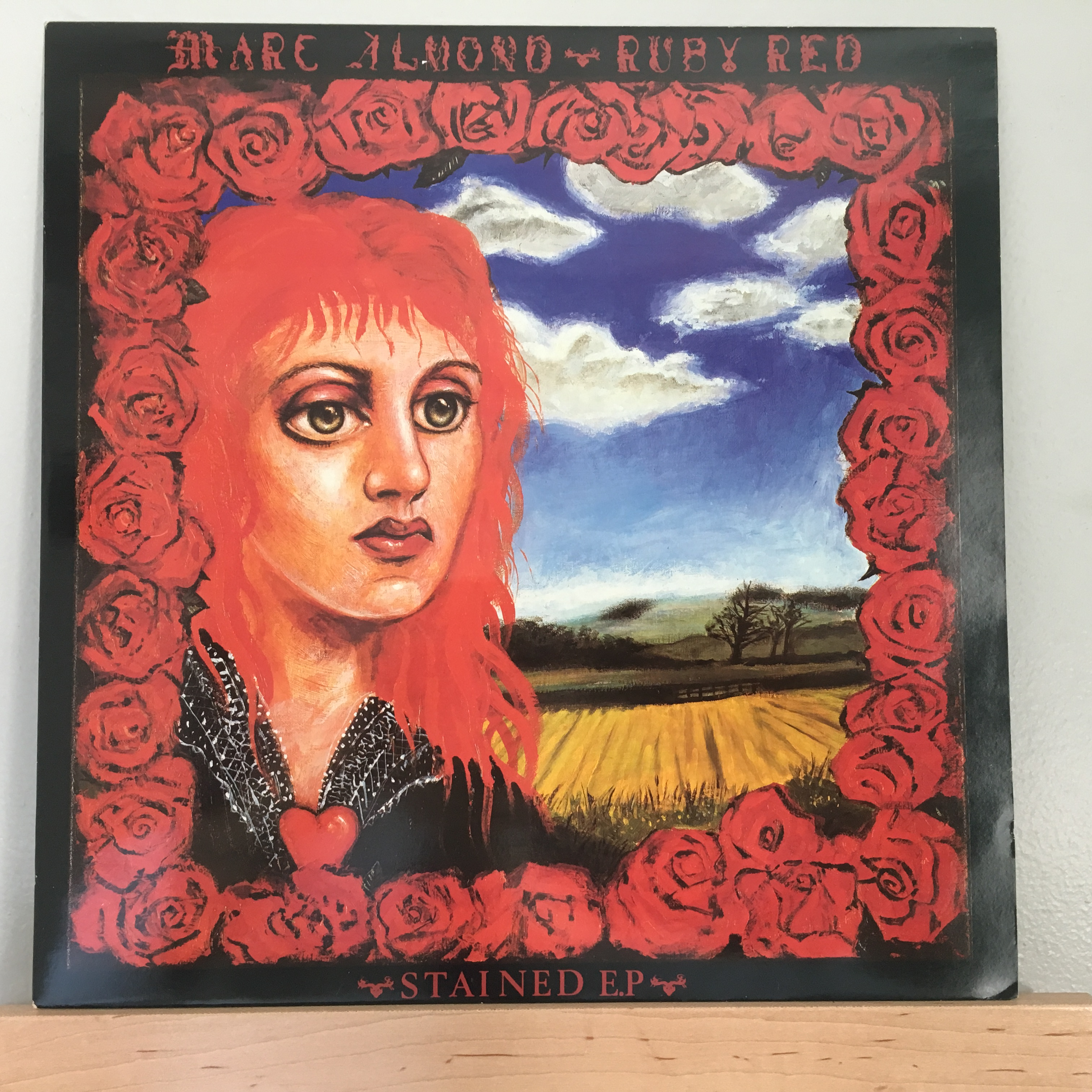 Ruby Red Stained E.P. Cover