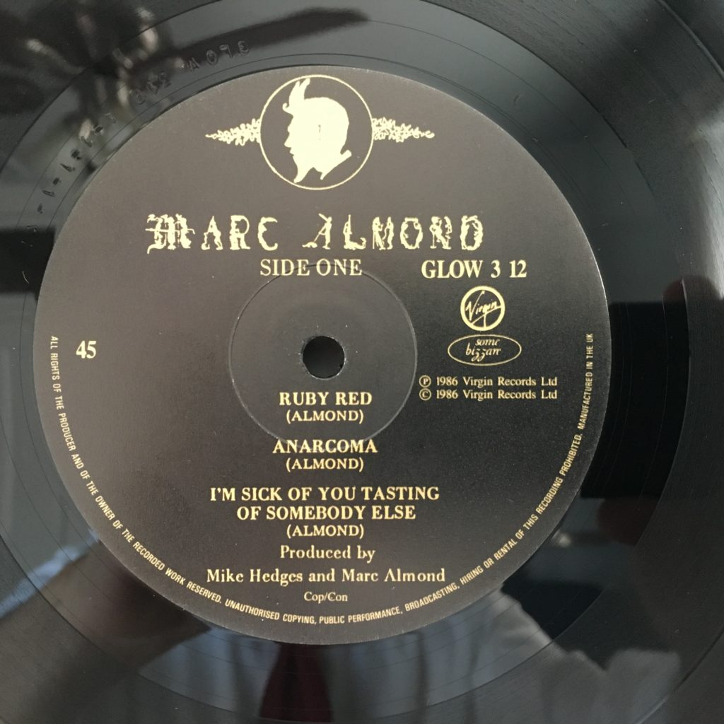 Ruby Red 45 Label A