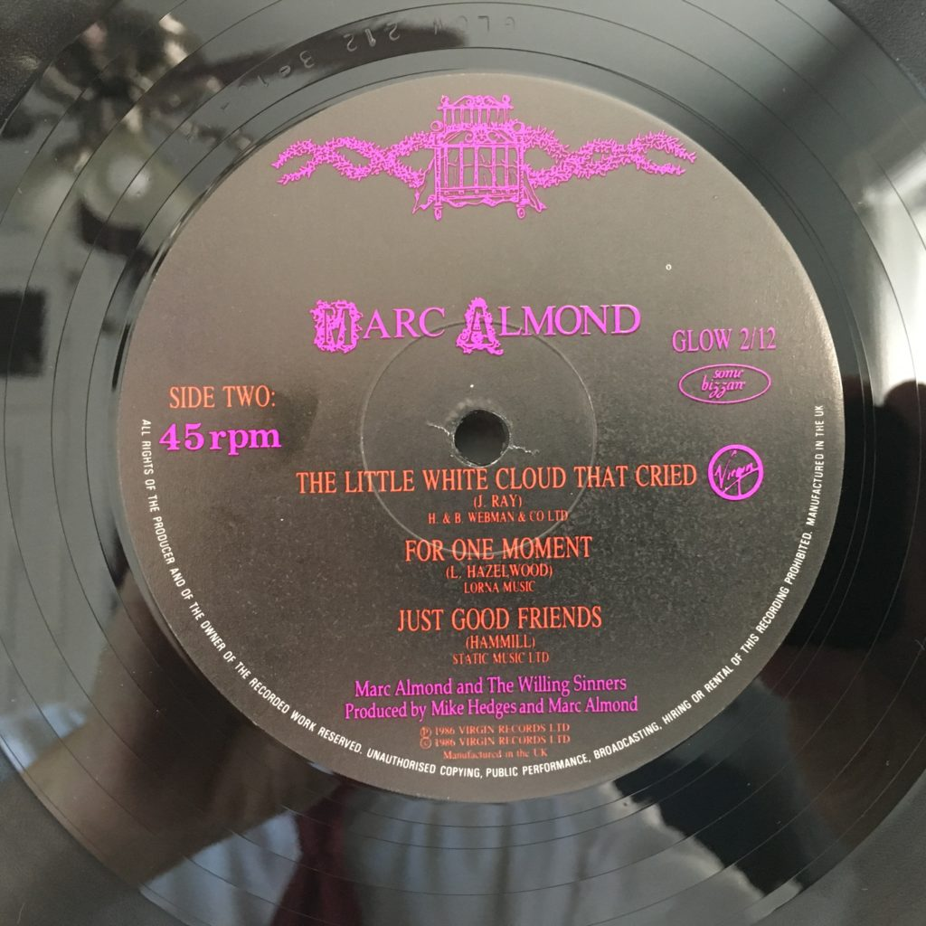 A Woman's Story label B side