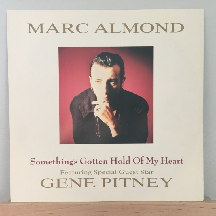 """Something's Gotten Hold of My Heart 12"""" front cover"""