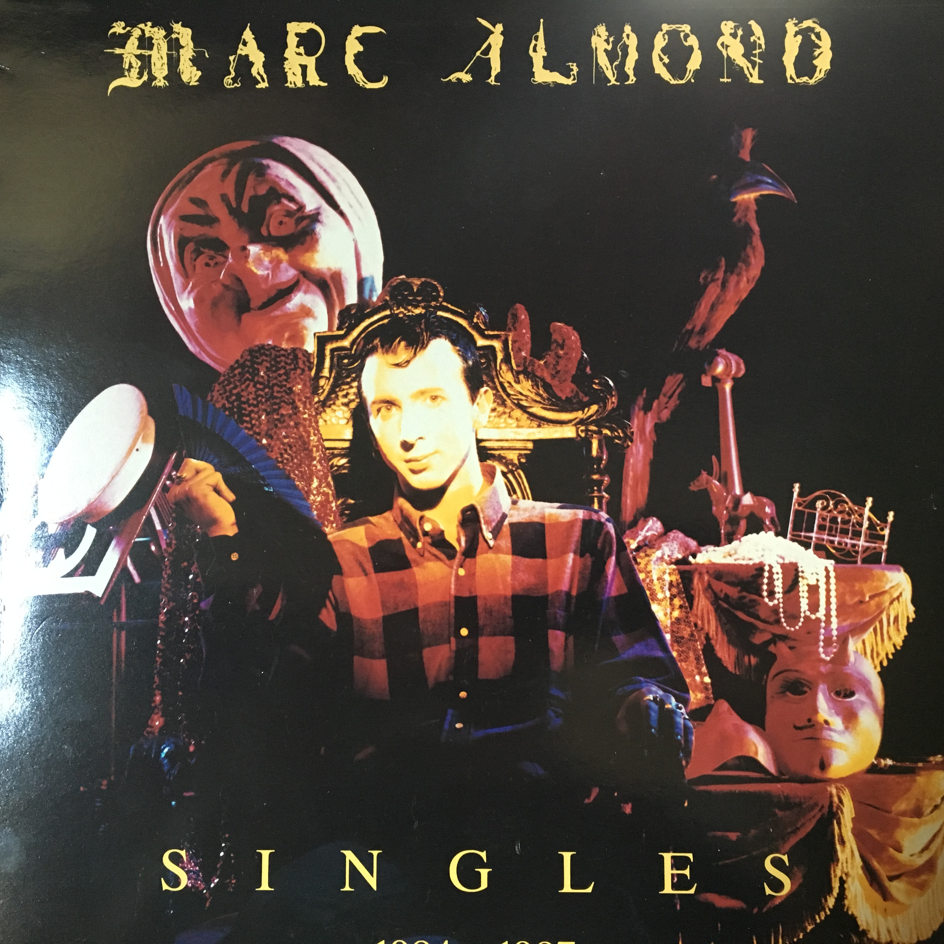 Marc Almond Singles 1984-1987 front cover
