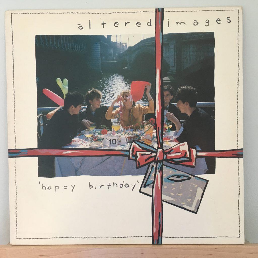 Happy Birthday album front cover