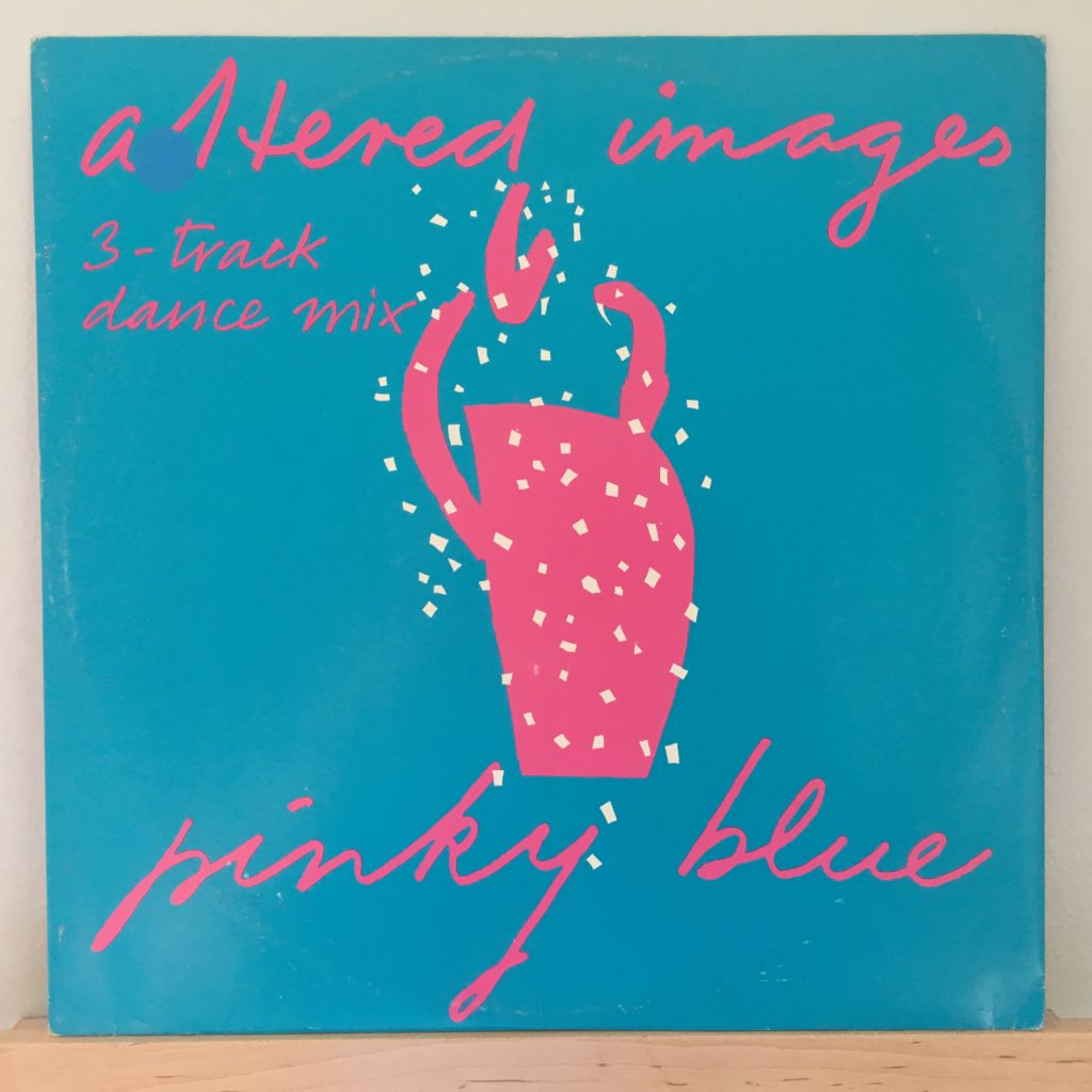 Pinky Blue Front Cover