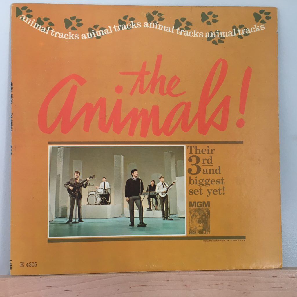 Animal Tracks US Front Cover