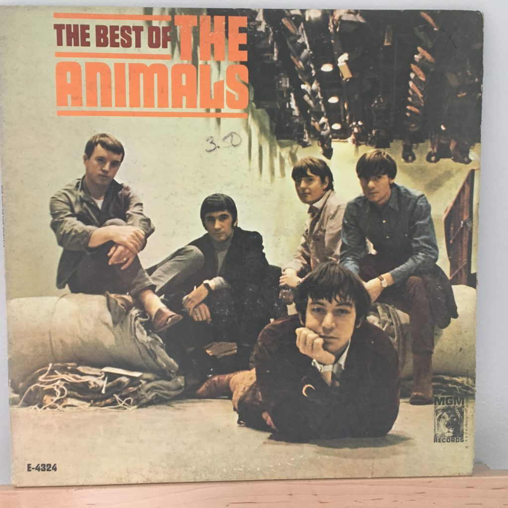The Best of The Animals Front Cover