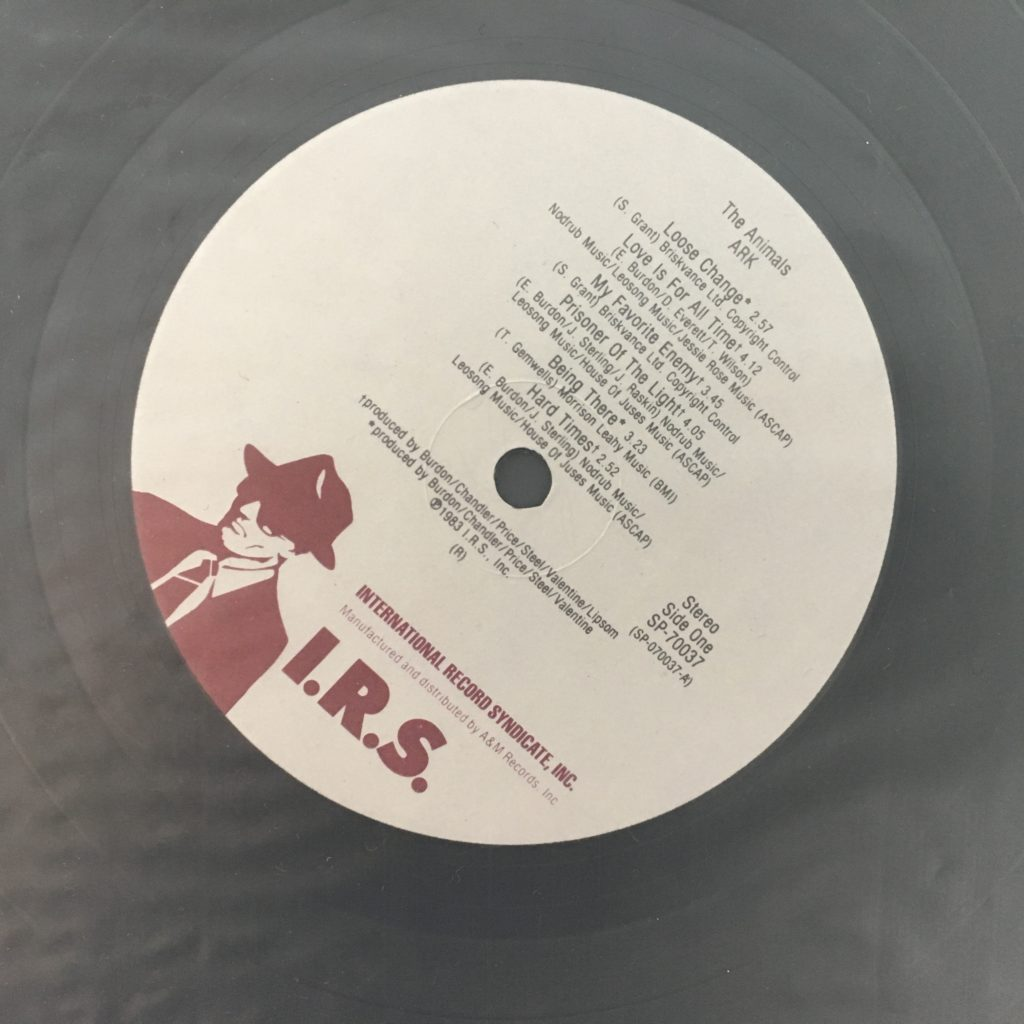 Ark on the I.R.S. label