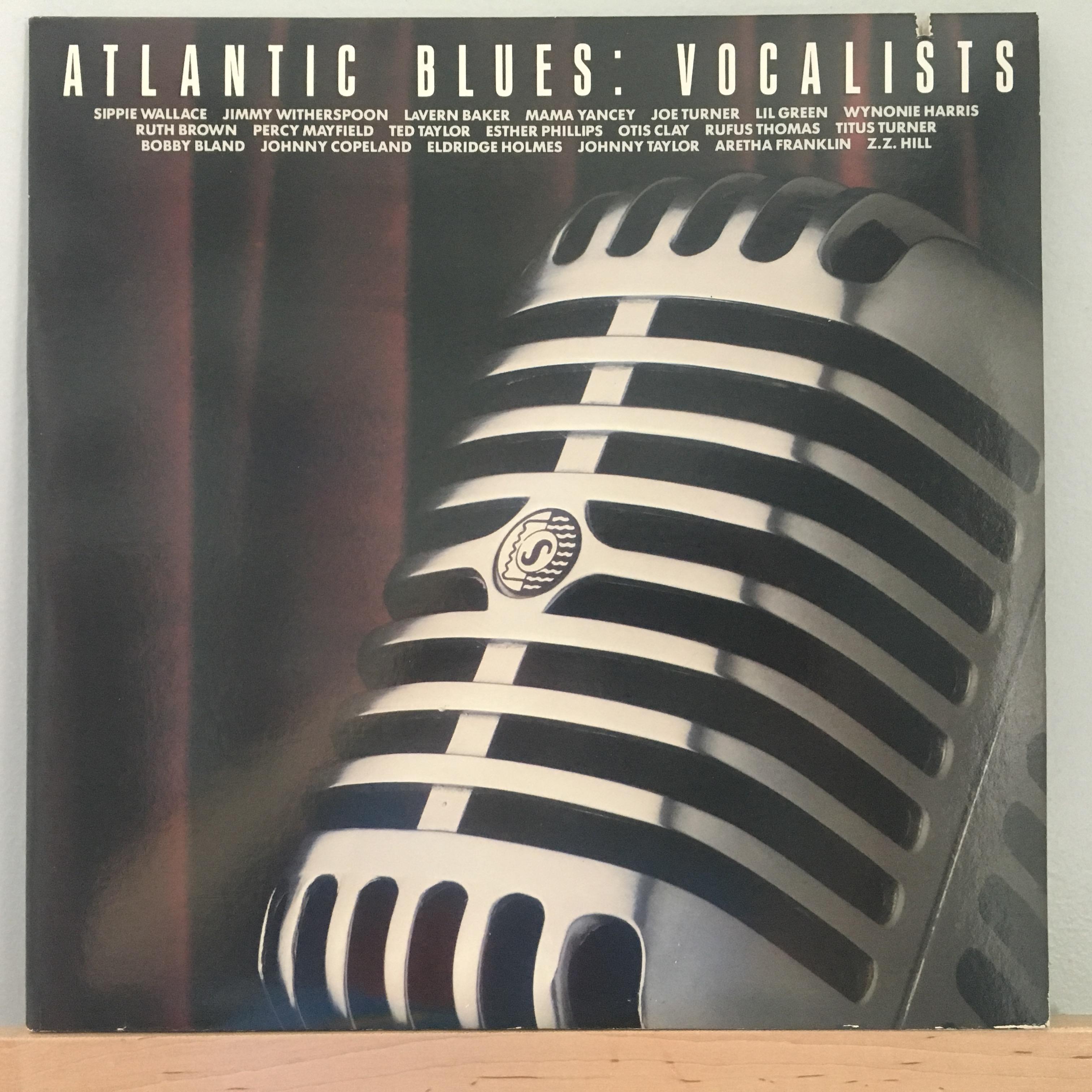 Atlantic Blues: Vocalists front cover