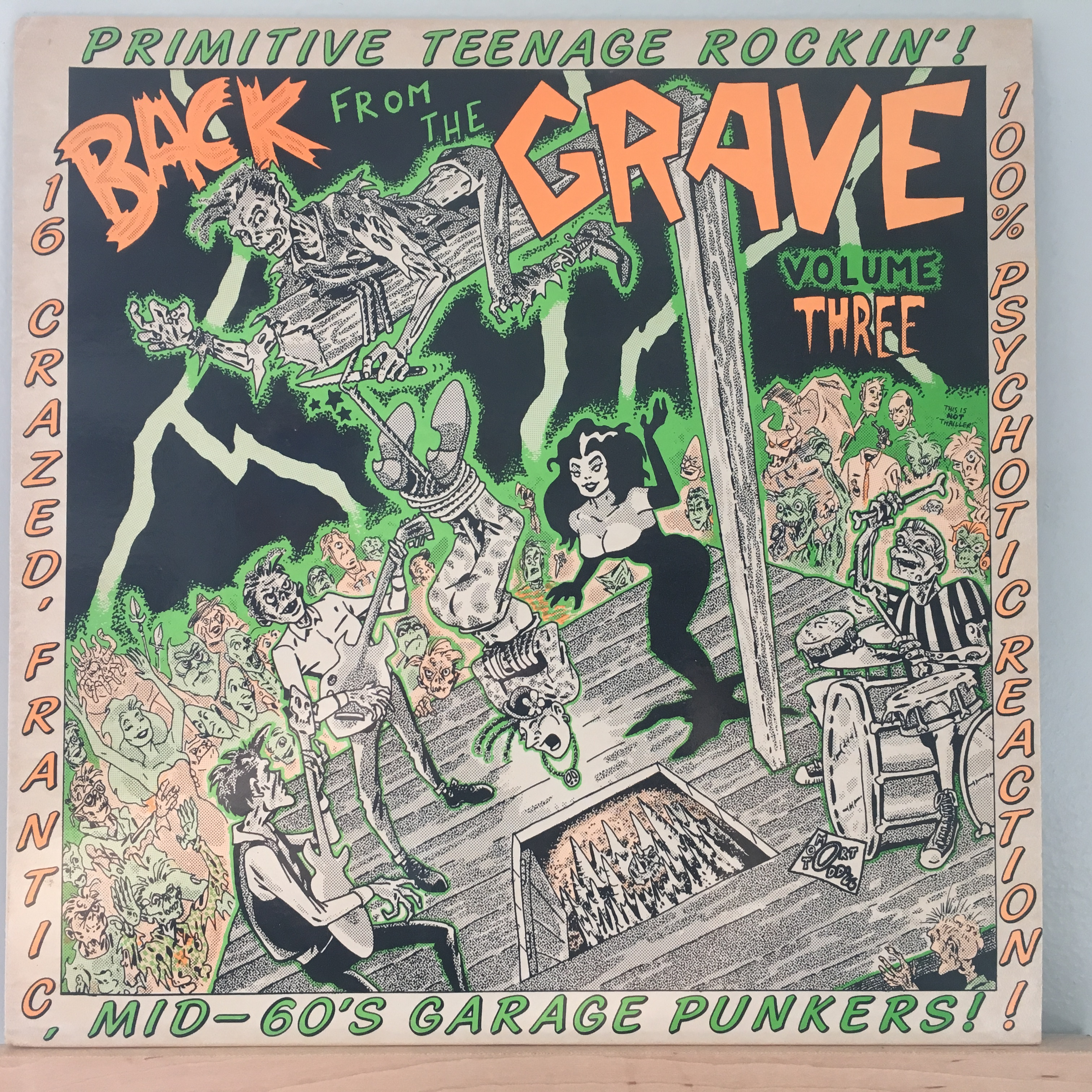 Back From the Grave Volume Three Front Cover