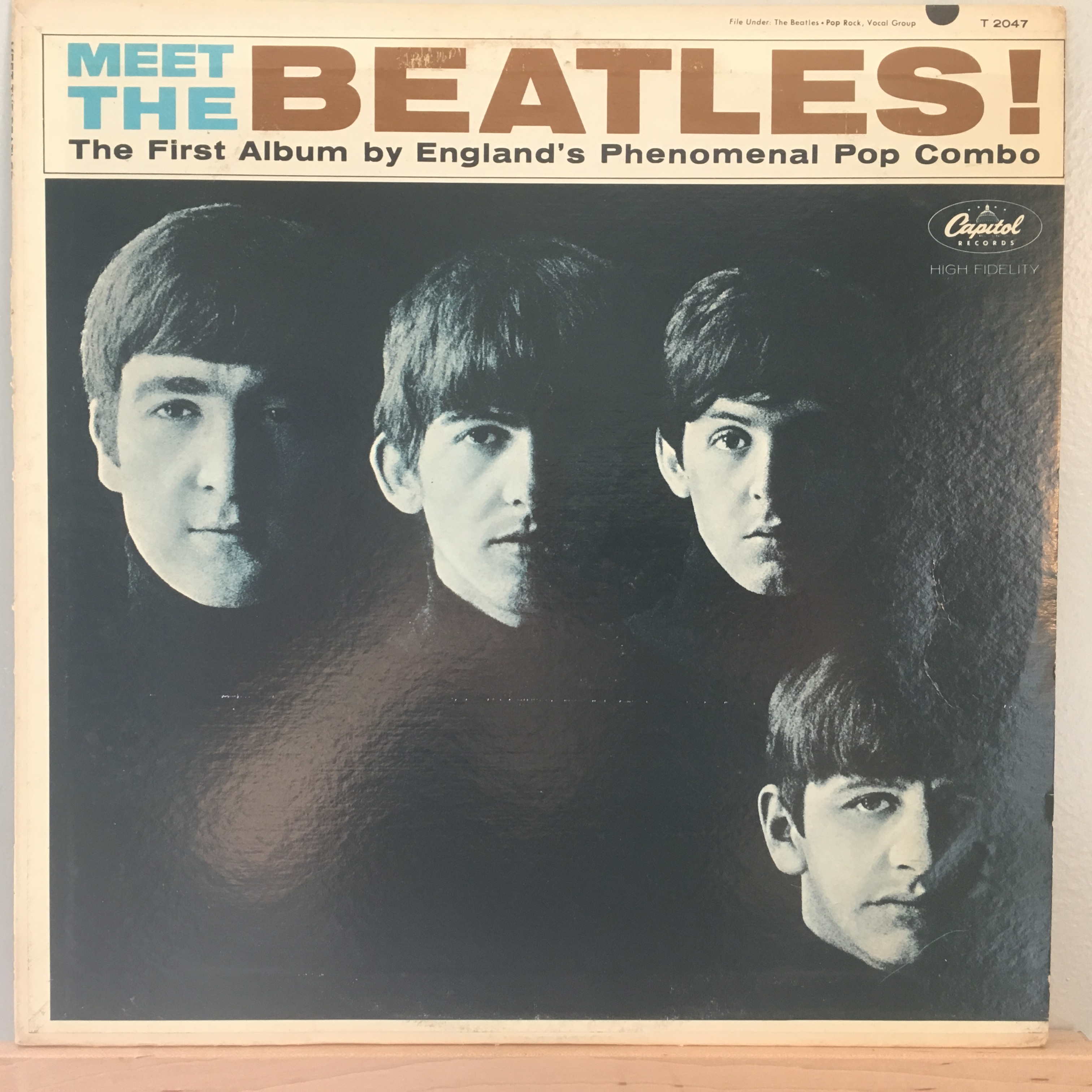 Meet The Beatles front cover