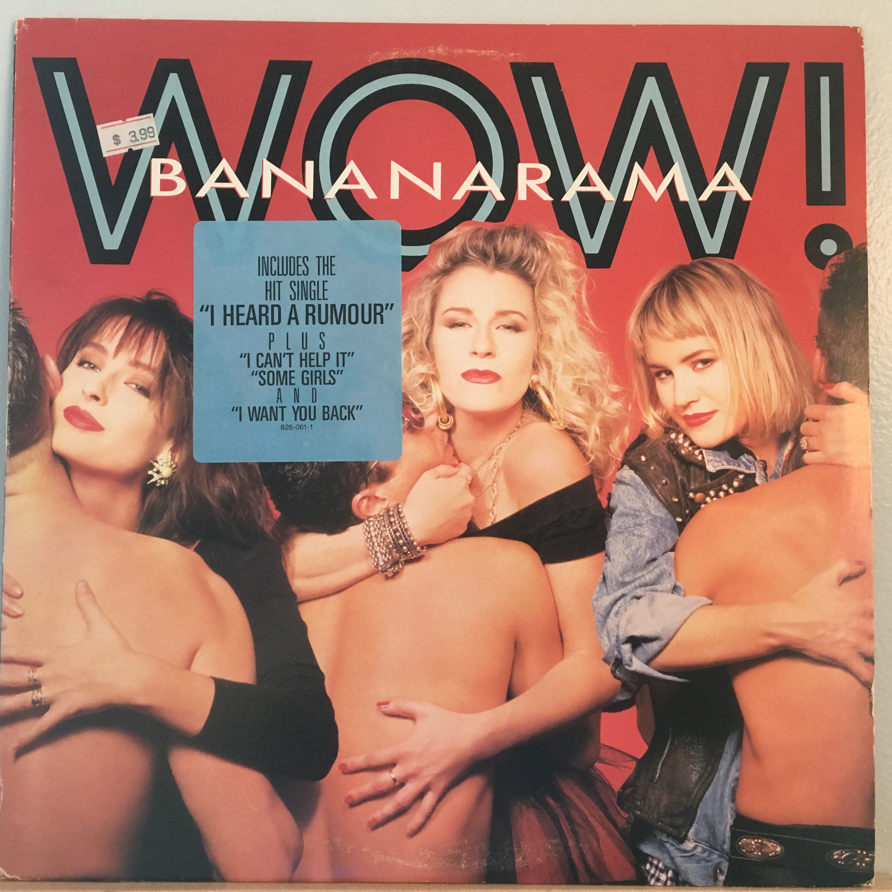 Banarama Wow front cover