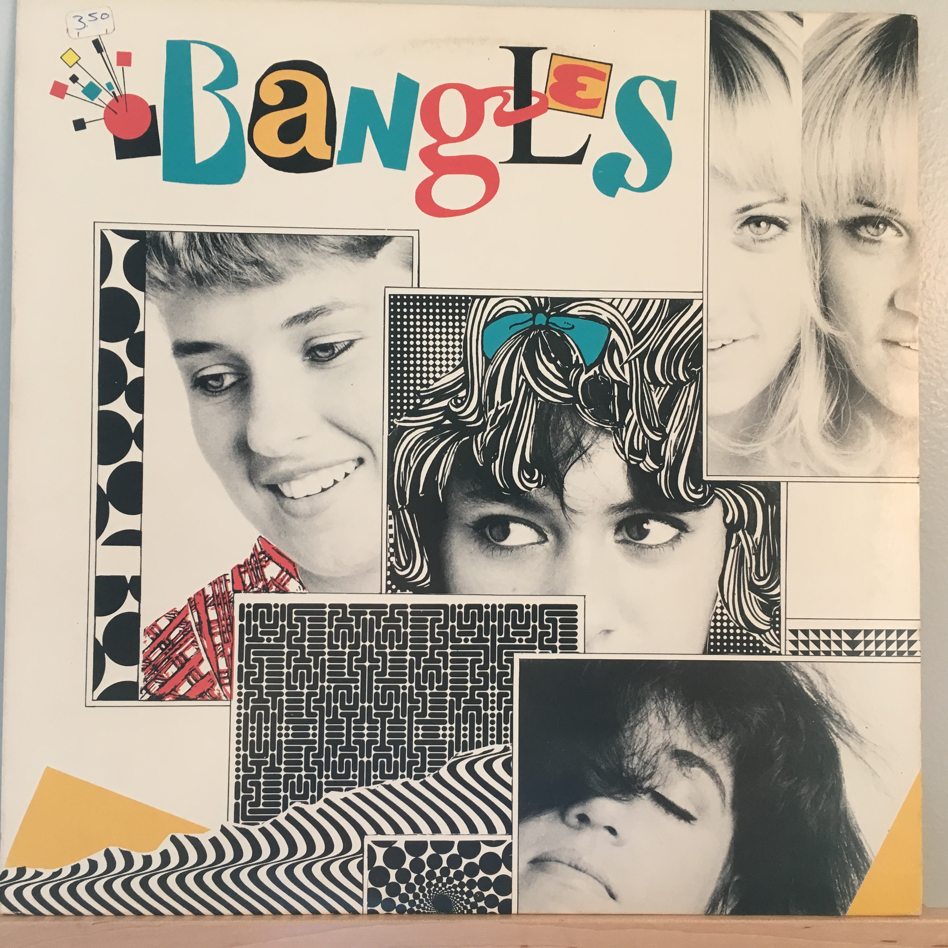 Bangles EP front cover