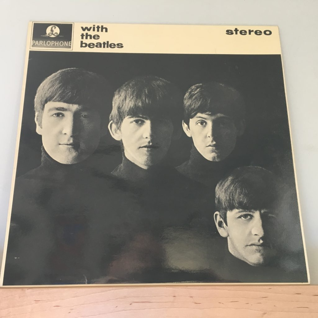 With the Beatles front cover