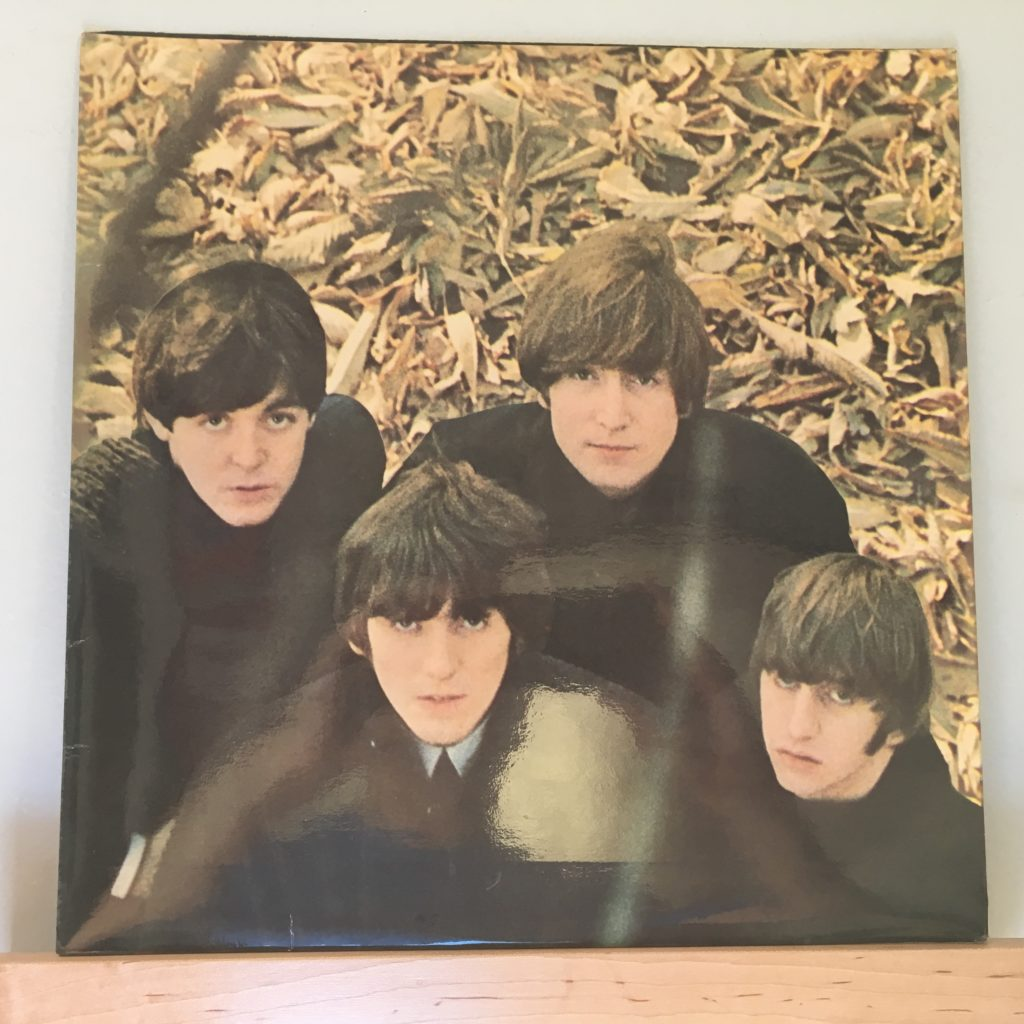 Beatles For Sale back cover