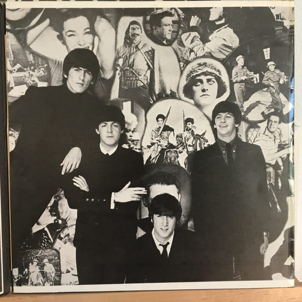 Beatles for Sale right inside