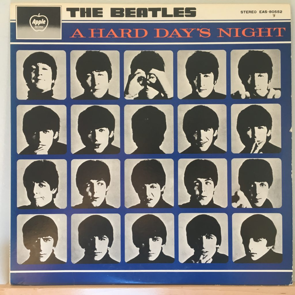 A Hard Day's Night front cover