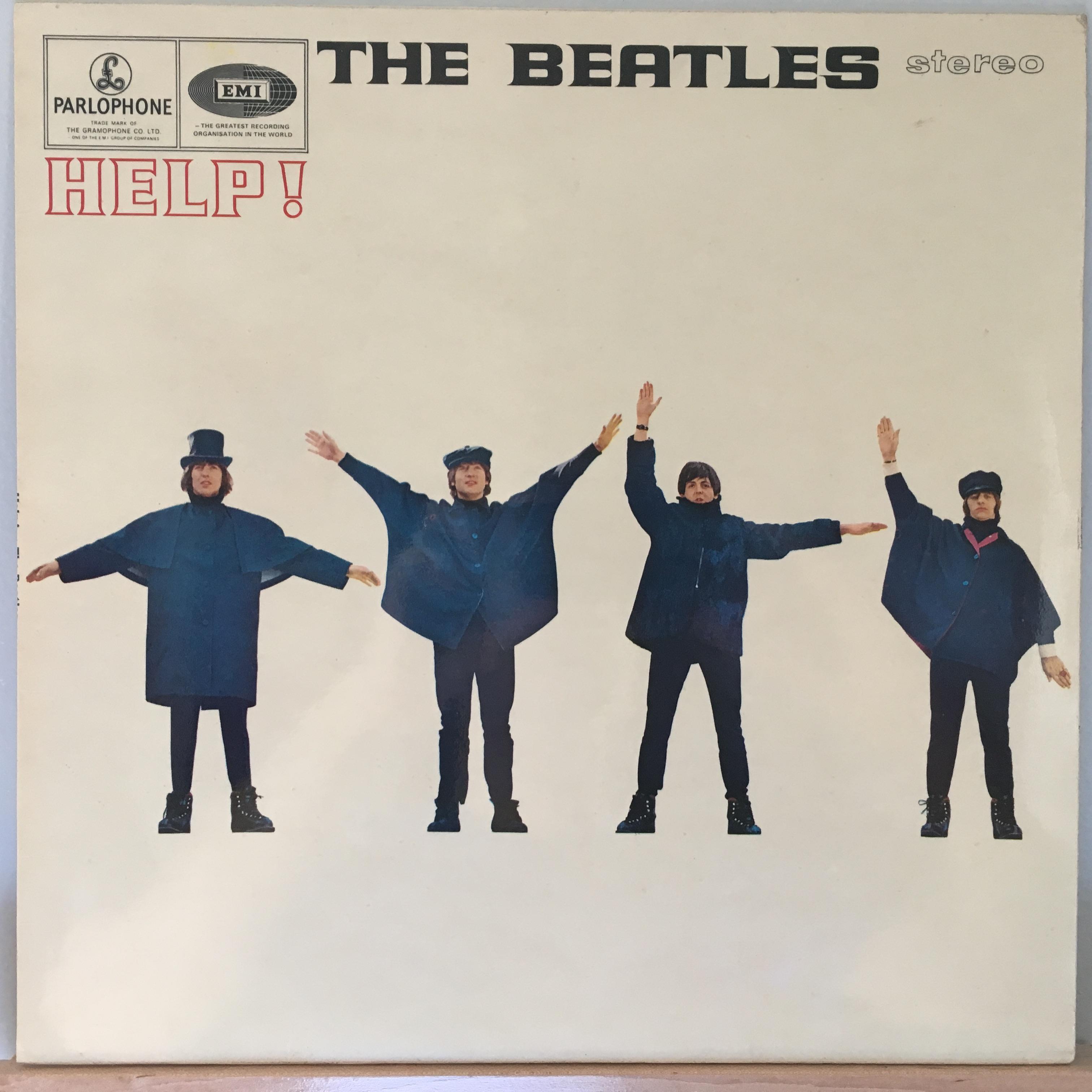 Help! front cover – good at rock music, bad at semaphore