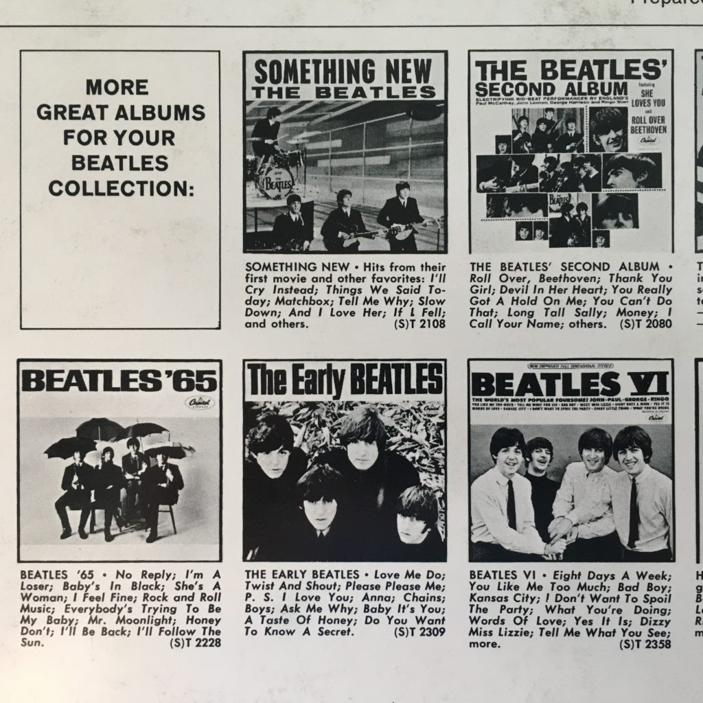More Great Beatles Albums