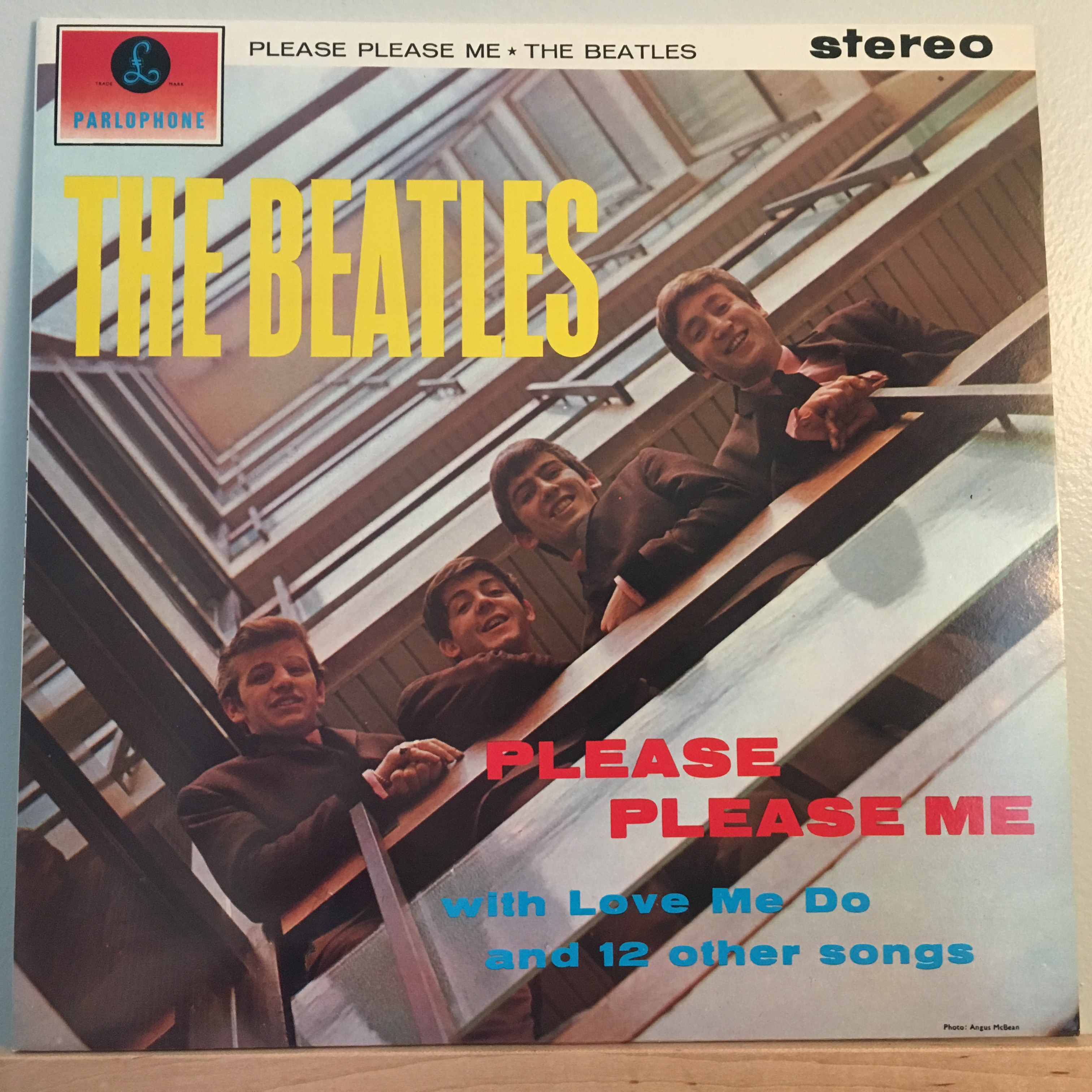 Please Please Me Front Cover