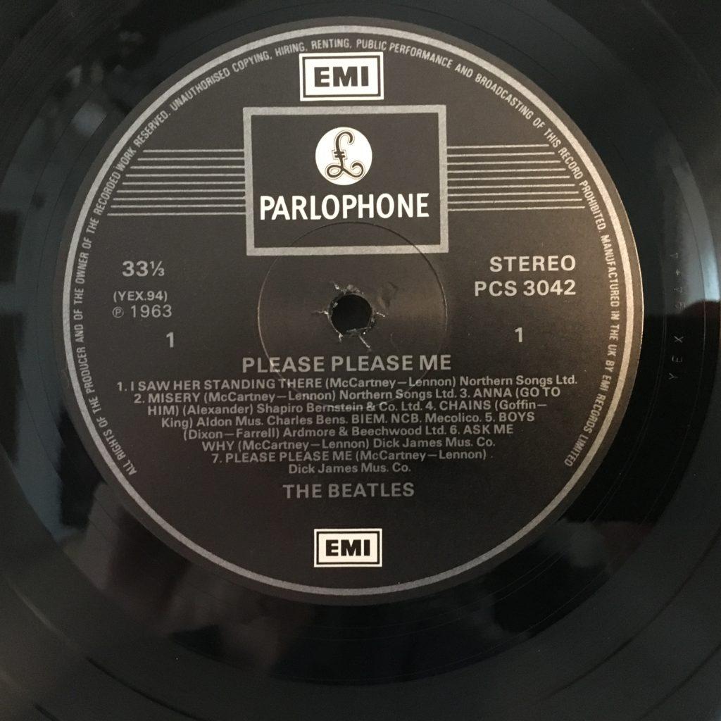 EMI Parlophone label