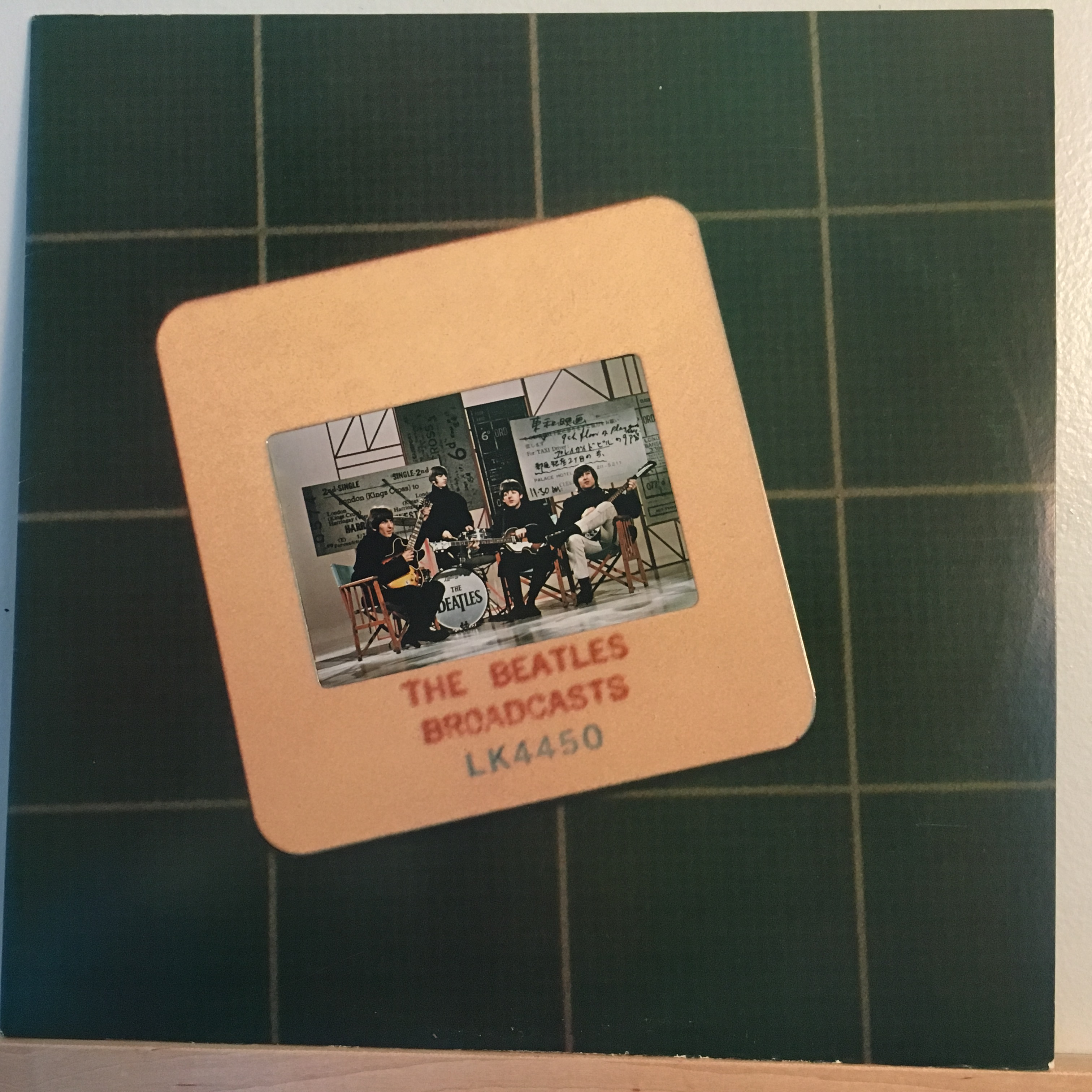 Beatles Broadcasts front cover