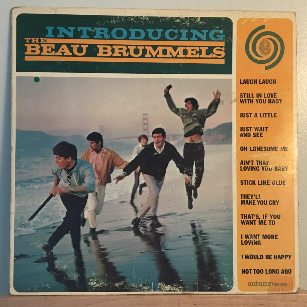 Introducing The Beau Brummels front cover