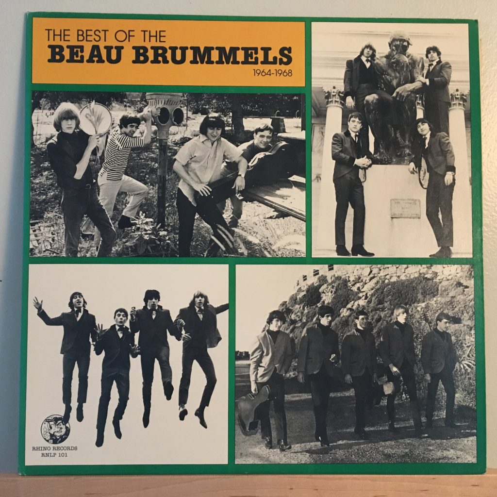 Best of the Beau Brummels front cover