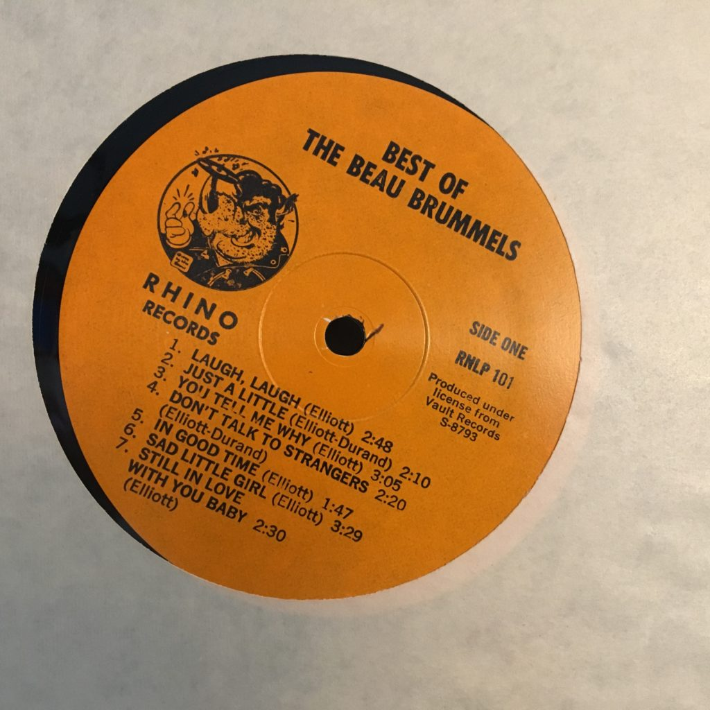 Best of the Beau Brummels Rhino Label