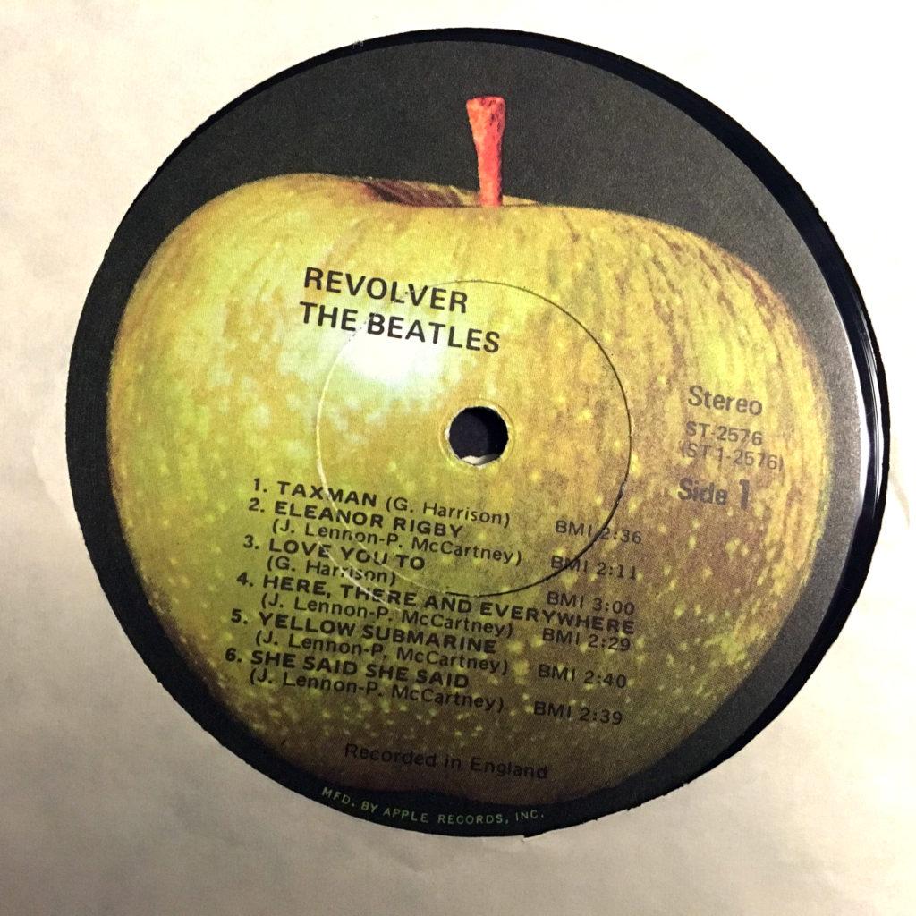 Revolver Apple label