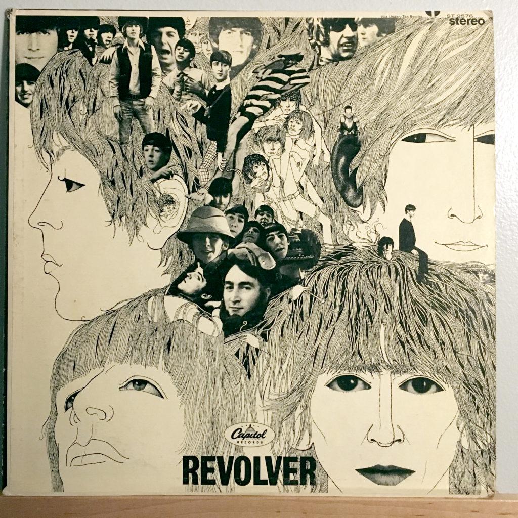 Revolver front cover