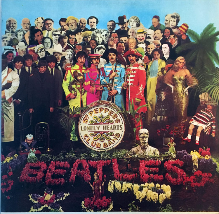 Sgt Peppers front cover