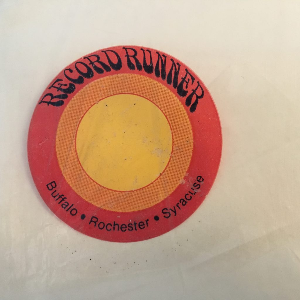 White Album Record Runner logo