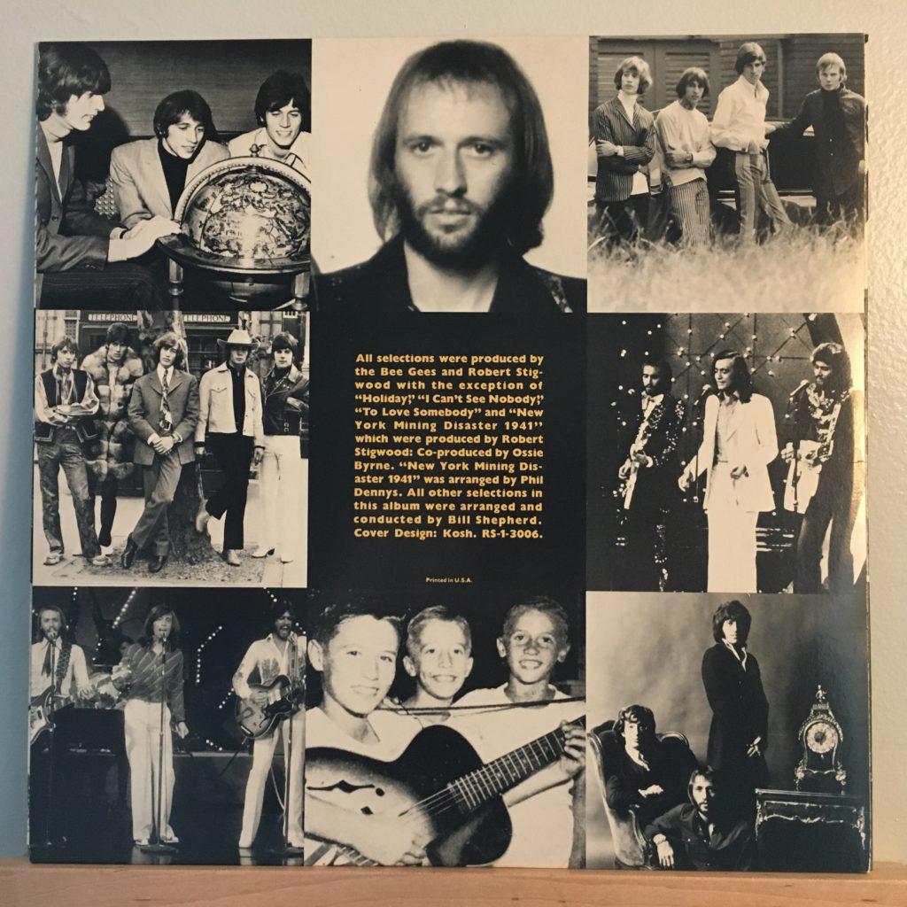 Bee Gees Gold Sleeve B